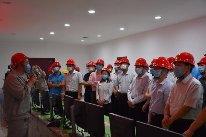 省应急管理厅组织开展365体育投注非煤矿山双重预防观摩活动