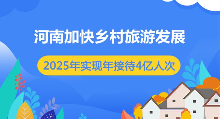图解:河南加快乡村旅游发展 到2025年实现年接待4亿人次