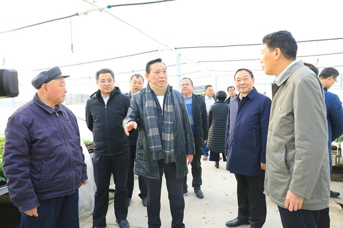 图/文:刘东生来豫调研国土绿化高质量发展工作