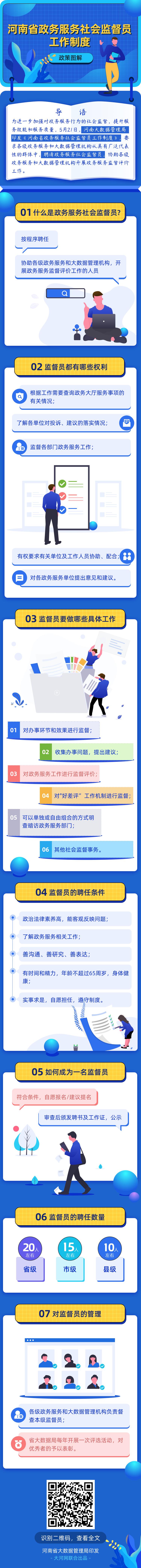 图解:河南公开聘任政务服务社会监督员 详情看这里
