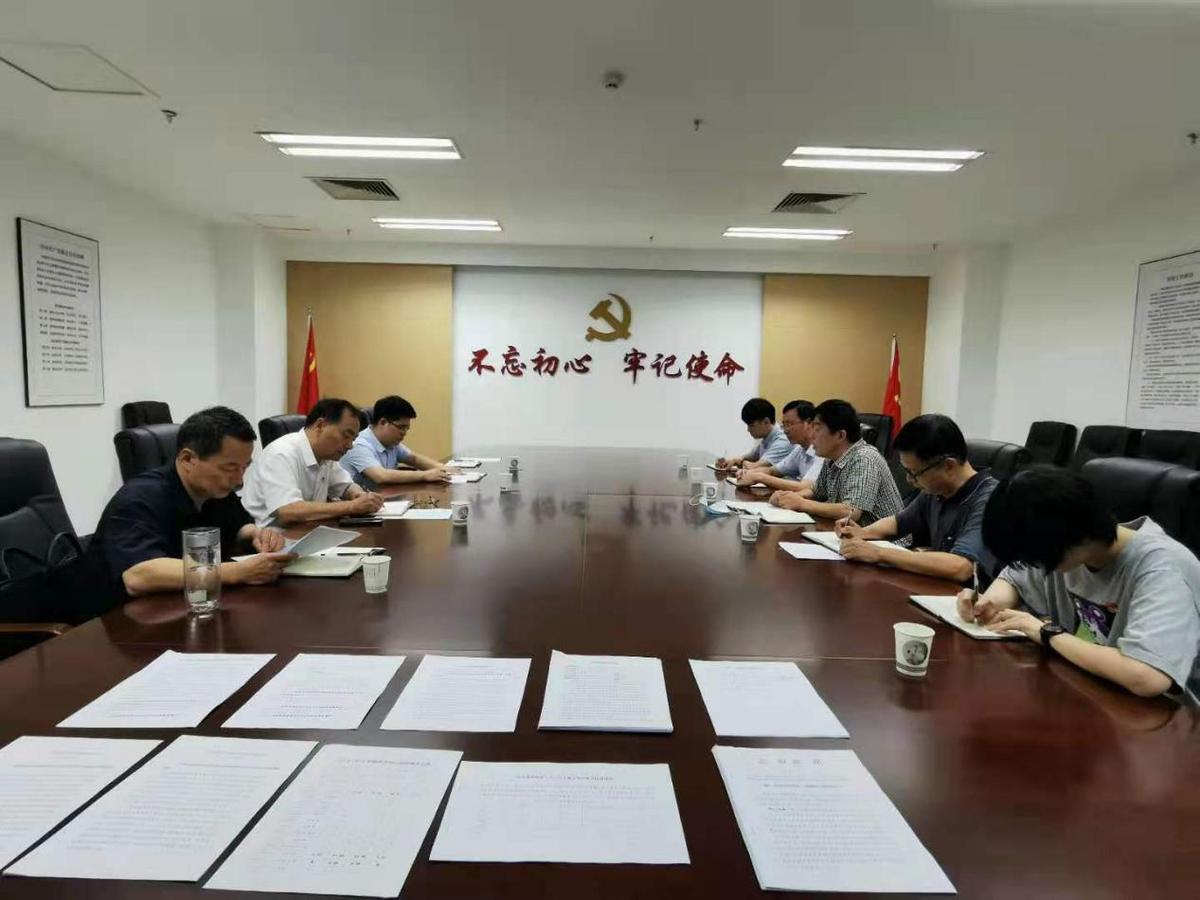 驻委纪检监察组组长、委党组成员李振明调研指导巡察工作