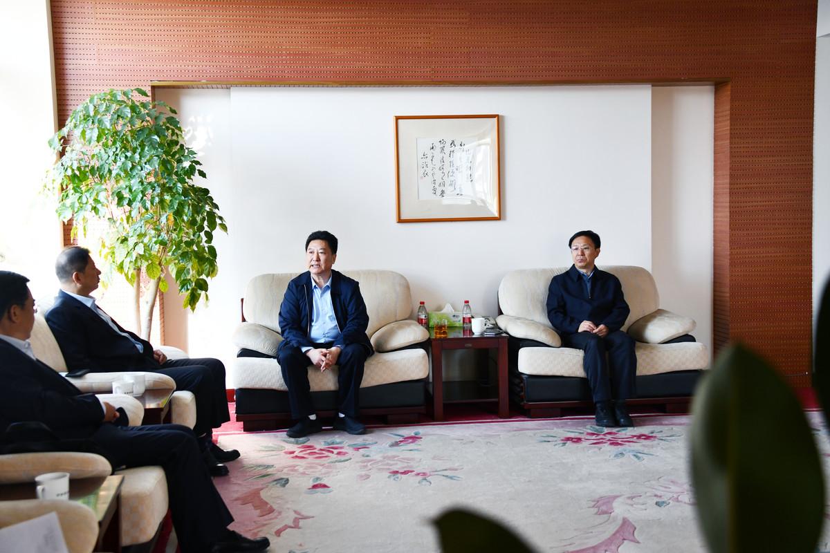 河南省农业农村厅党组书记、厅长宋虎振会见中国建设银行河南省分行行长梁德顺