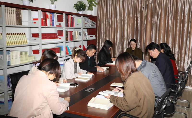 """周口无线电管理局举办""""学党史、强信念""""读书交流会"""
