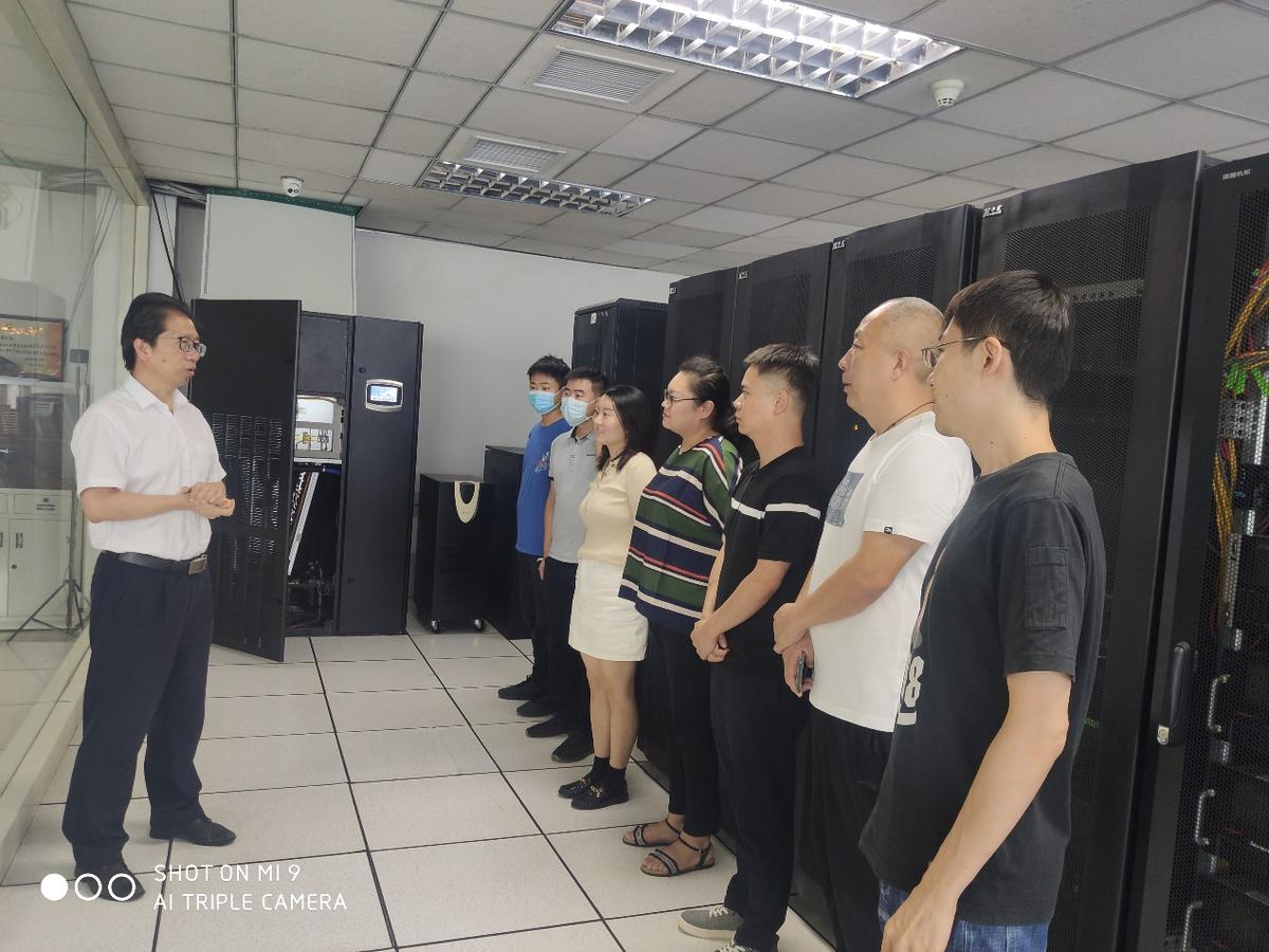 省文化和旅游厅开展网络安全应急演练